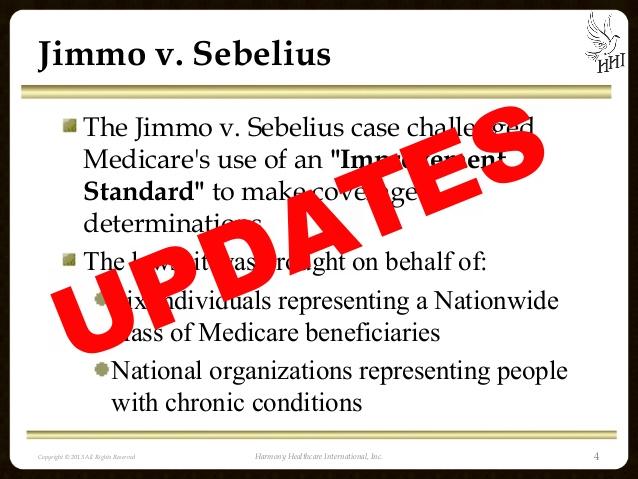 Jimmo vs Sebelius